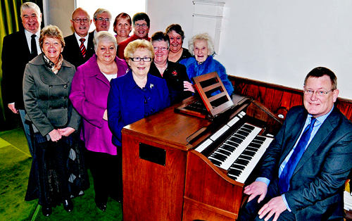The Whitehead Methodist Church Choir