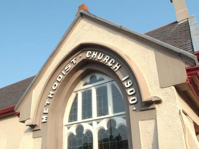 Church Entrance Area