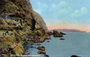 Islandmagee Postcard 1 SmallCliffPath