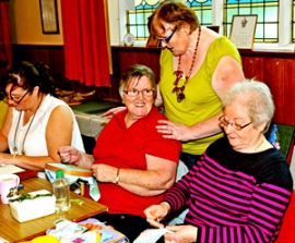 Craft classes at Whitehead