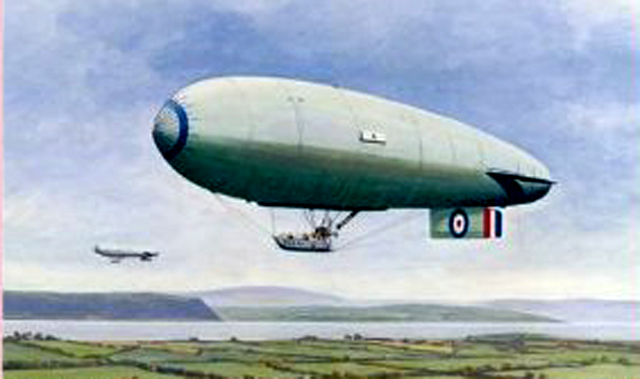 Airships Over Ulster book cover