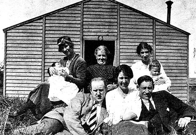 Miss Vera Girvan's family